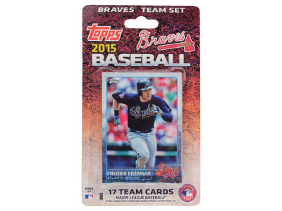 Atlanta Braves Team Card Set 2015