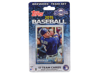 Milwaukee Brewers Team Card Set 2015