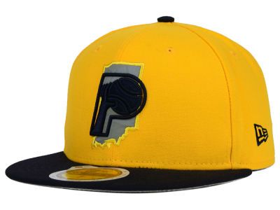 Indiana Pacers New Era NBA HWC State Reflective Redux 59FIFTY Cap