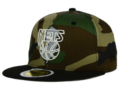 New Jersey Nets New Era NBA HWC State Reflective Redux 59FIFTY Cap