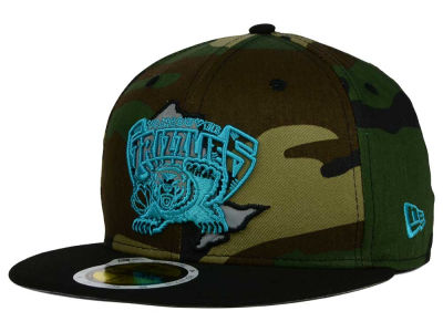 Vancouver Grizzlies New Era NBA HWC State Reflective Redux 59FIFTY Cap