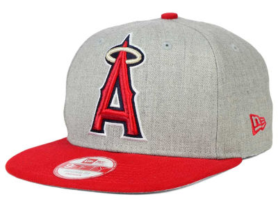 Los Angeles Angels New Era MLB Logo Grand 9FIFTY Snapback Cap