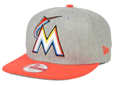 Miami Marlins New Era MLB Logo Grand 9FIFTY Snapback Cap