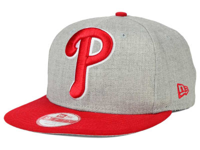 Philadelphia Phillies New Era MLB Logo Grand 9FIFTY Snapback Cap