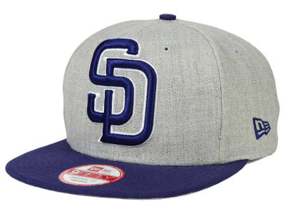 San Diego Padres New Era MLB Logo Grand 9FIFTY Snapback Cap
