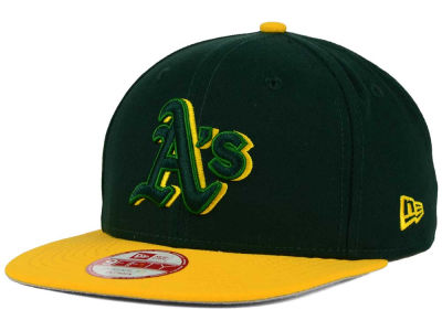 Oakland Athletics New Era MLB Shadow Slice 9FIFTY Snapback Cap