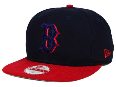 Boston Red Sox New Era MLB Shadow Slice 9FIFTY Snapback Cap