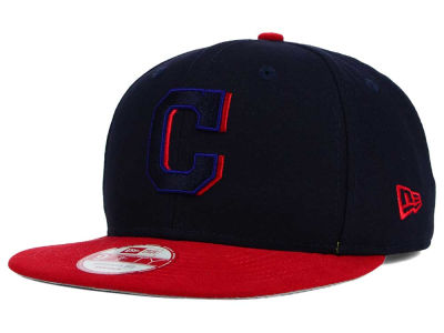 Cleveland Indians New Era MLB Shadow Slice 9FIFTY Snapback Cap