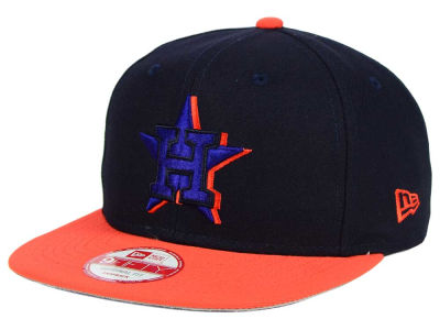 Houston Astros New Era MLB Shadow Slice 9FIFTY Snapback Cap