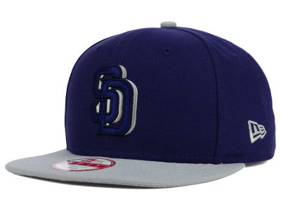 San Diego Padres New Era MLB Shadow Slice 9FIFTY Snapback Cap