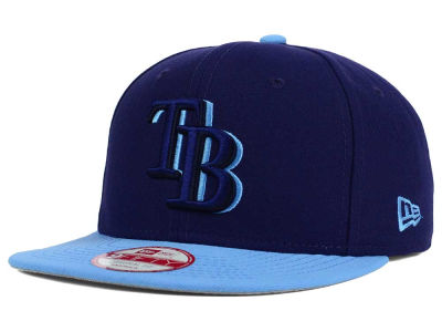 Tampa Bay Rays New Era MLB Shadow Slice 9FIFTY Snapback Cap