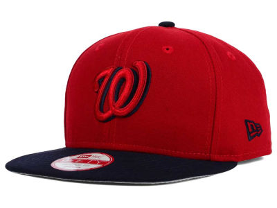 Washington Nationals New Era MLB Shadow Slice 9FIFTY Snapback Cap