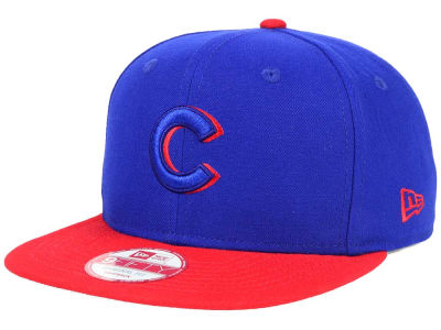 Chicago Cubs New Era MLB Shadow Slice 9FIFTY Snapback Cap