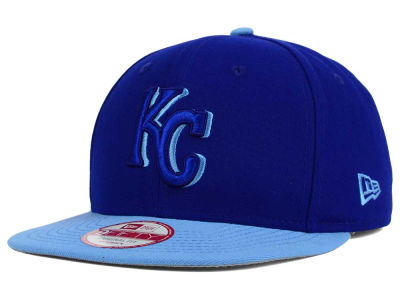 Kansas City Royals New Era MLB Shadow Slice 9FIFTY Snapback Cap