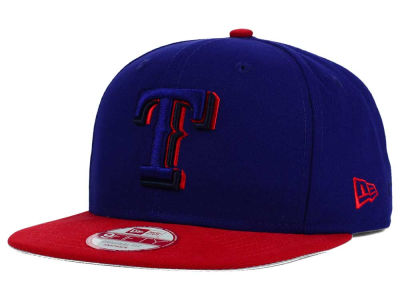 Texas Rangers New Era MLB Shadow Slice 9FIFTY Snapback Cap