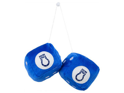 Indianapolis Colts Fuzzy Dice