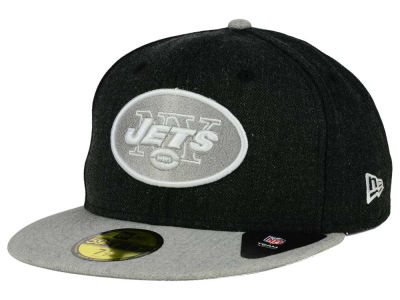 New York Jets New Era NFL Heather Action 2 Tone 59FIFTY Cap