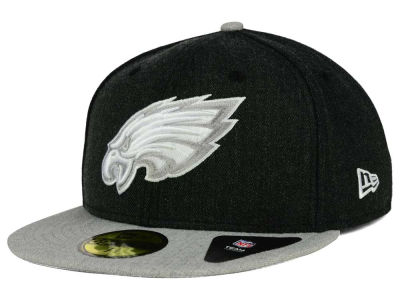 Philadelphia Eagles New Era NFL Heather Action 2 Tone 59FIFTY Cap