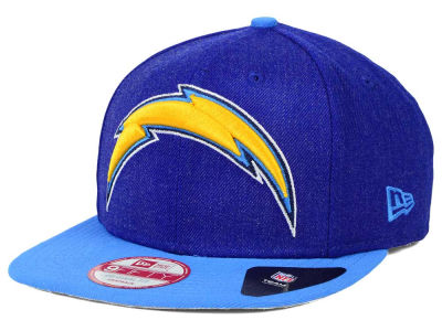 Los Angeles Chargers New Era NFL Logo Grand 9FIFTY Snapback Cap