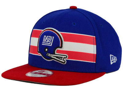 New York Giants New Era NFL Retro Striped 9FIFTY Snapback Cap