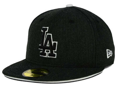 Los Angeles Dodgers New Era MLB Heather Slice 59FIFTY Cap