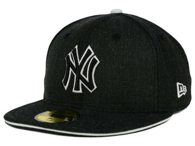 New York Yankees New Era MLB Heather Slice 59FIFTY Cap