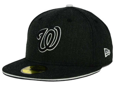 Washington Nationals New Era MLB Heather Slice 59FIFTY Cap