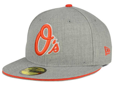 Baltimore Orioles New Era MLB Heather Slice 59FIFTY Cap