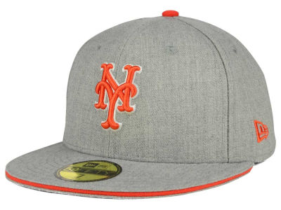 New York Mets New Era MLB Heather Slice 59FIFTY Cap