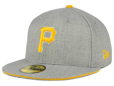 Pittsburgh Pirates New Era MLB Heather Slice 59FIFTY Cap