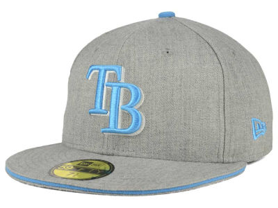 Tampa Bay Rays New Era MLB Heather Slice 59FIFTY Cap