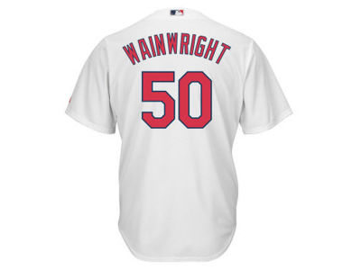 St. Louis Cardinals Adam Wainwright Majestic MLB Youth Player Replica Cool Base Jersey