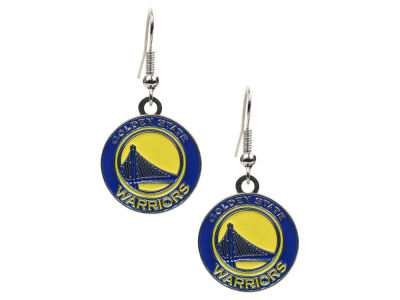 Golden State Warriors Logo Earrings
