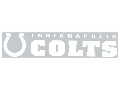Indianapolis Colts Diecut Decal 4x17