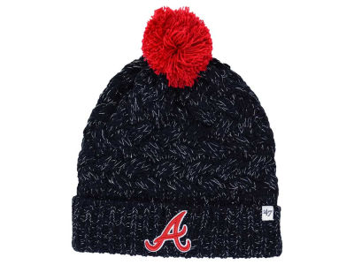 Atlanta Braves '47 MLB Women's '47 Fiona Pom Knit