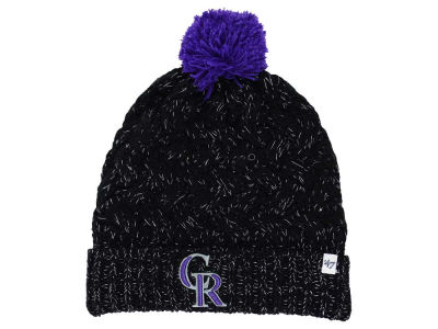 Colorado Rockies '47 MLB Women's '47 Fiona Pom Knit