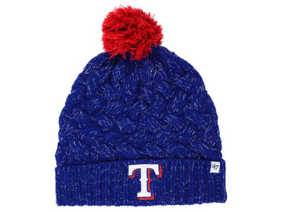 Texas Rangers '47 MLB Women's '47 Fiona Pom Knit