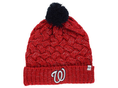 Washington Nationals '47 MLB Women's '47 Fiona Pom Knit