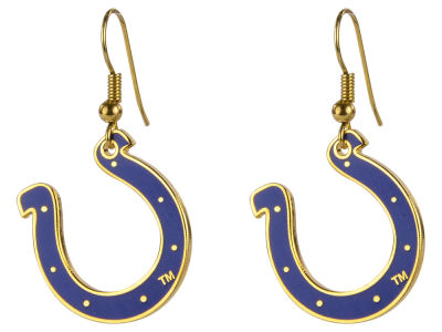 Indianapolis Colts Dangle Hoop Earrings