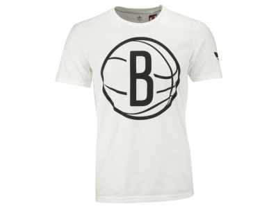 Brooklyn Nets adidas NBA Men's Big and Clean T-Shirt