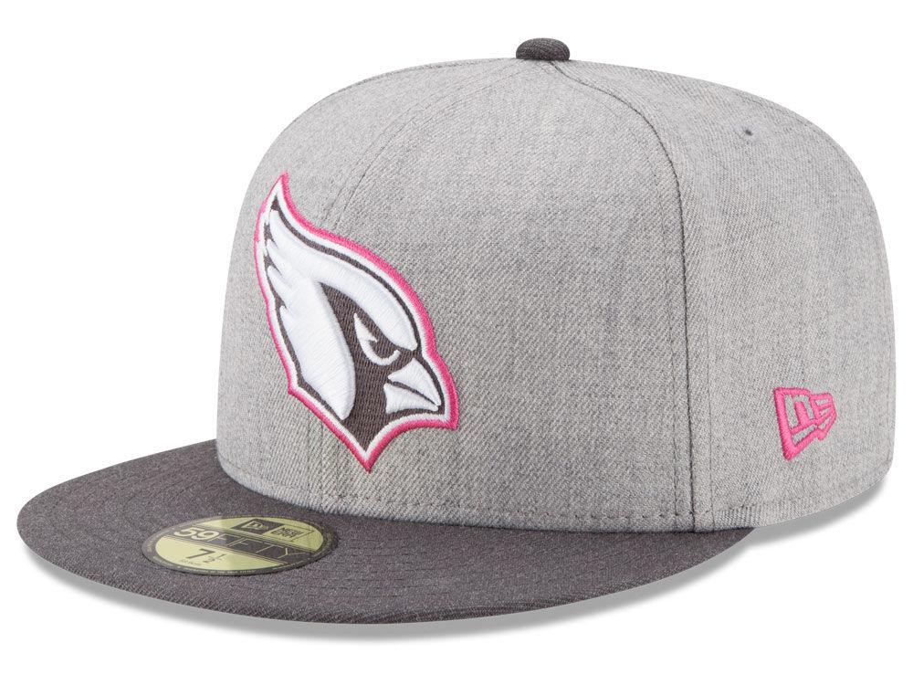 Arizona Cardinals New Era NFL 2015 Breast Cancer Awareness 59FIFTY Cap  7c85c8298