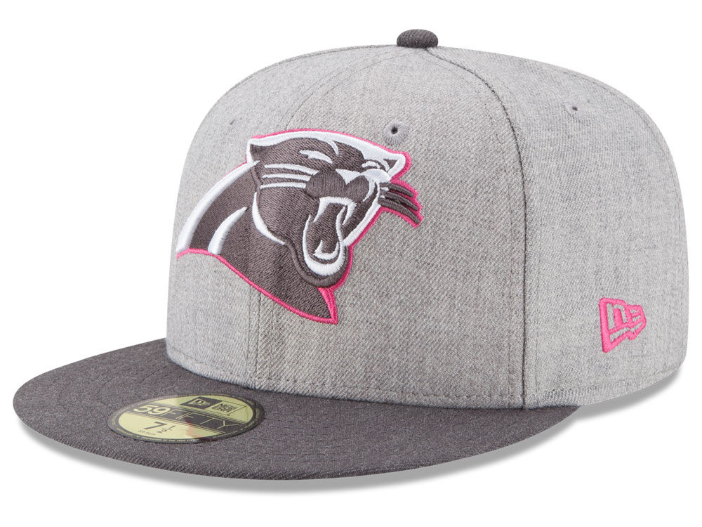 1525c5c45 ... wholesale carolina panthers new era nfl 2015 breast cancer awareness  59fifty cap 37a64 3fe50