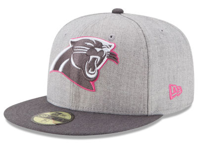 Carolina Panthers New Era NFL 2015 Breast Cancer Awareness 59FIFTY Cap