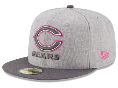 Chicago Bears New Era NFL 2015 Breast Cancer Awareness 59FIFTY Cap