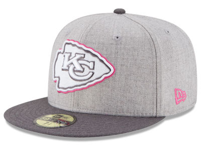 Kansas City Chiefs New Era NFL 2015 Breast Cancer Awareness 59FIFTY Cap