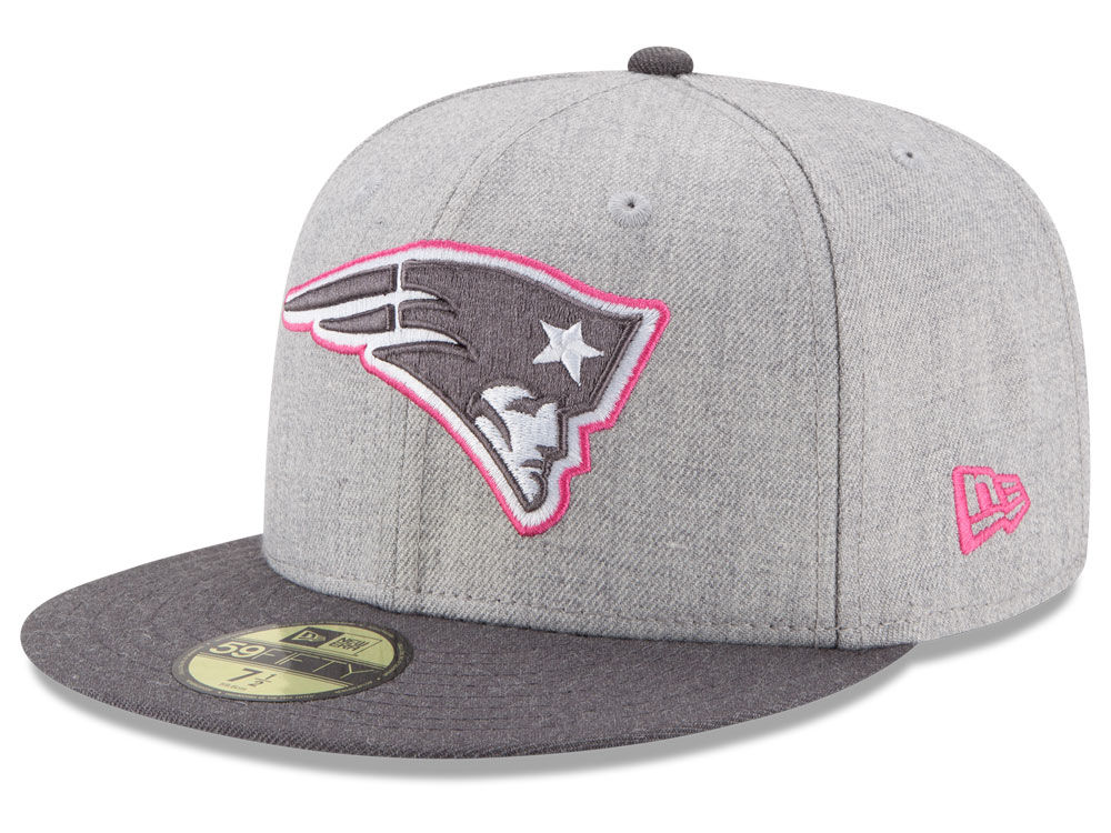 8041b2b19dc New England Patriots New Era NFL 2015 Breast Cancer Awareness 59FIFTY Cap