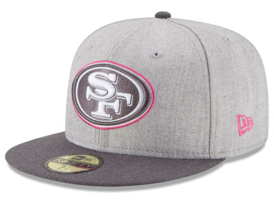 San Francisco 49ers New Era NFL 2015 Breast Cancer Awareness 59FIFTY Cap