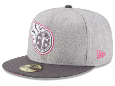 Tennessee Titans New Era NFL 2015 Breast Cancer Awareness 59FIFTY Cap