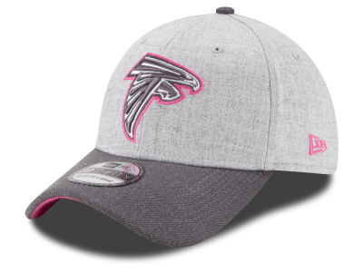 Atlanta Falcons New Era NFL 2015 Breast Cancer Awareness 39THIRTY Cap