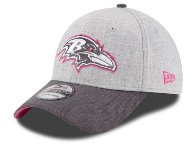 Baltimore Ravens New Era NFL 2015 Breast Cancer Awareness 39THIRTY Cap